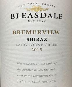 Bleasdale Shiraz 2015