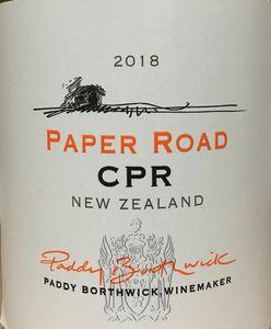 Borthwick Paper Road CPR