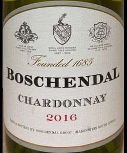 Boschendal Chardonnay 2016