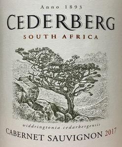 Cederberg Cabernet Sauvignon 2017