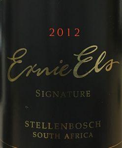 Ernie Else Signature Red 2012