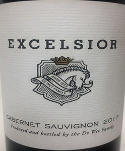 Excelsior Cabernet Sauvignon 2017