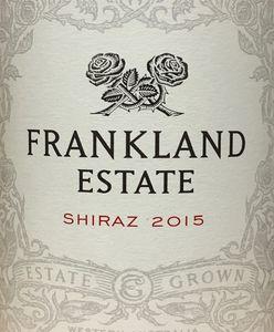 Frankland Shiraz 2015