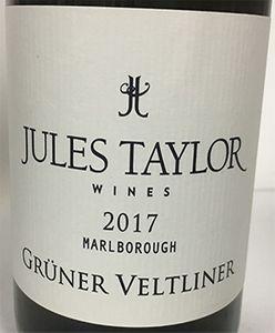 Jules Taylor Gruner Veltliner 2017