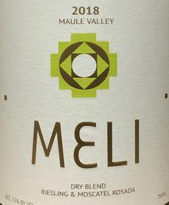 Meli Dry Blend Riesling Moscatel Rosada 2018