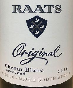 Raats Chenin Blanc 2019