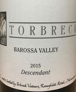 Torbreck Descendant 2015