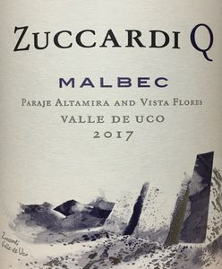 Zuccardi Q Malbec 2017