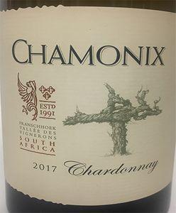 Chamonix Chardonnay 2017
