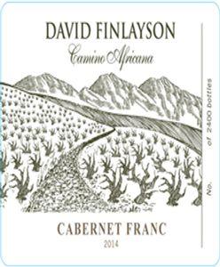 avid Finlayson Camino Africana Cab Franc 2014