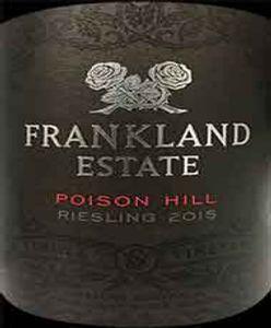 Frankland Estate 'Poison Hill' Riesling 2015