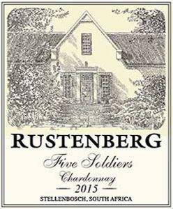 Rustenberg 'Five Soldiers' Chardonnay 2015