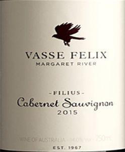 Vasse Felix 'Filius' Cabernet Sauvignon 2015