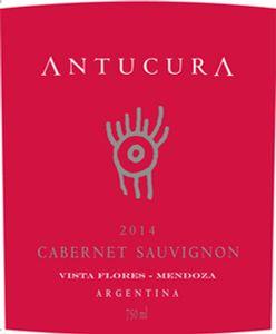 Antucura Cabernet Sauvignon 2014