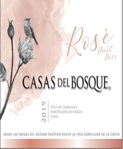 Casas Del Bosque Pinot Noir Rose 2019