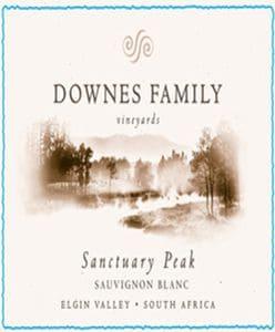 Downes Sanctuary Peak Sauvignon Blanc 2016