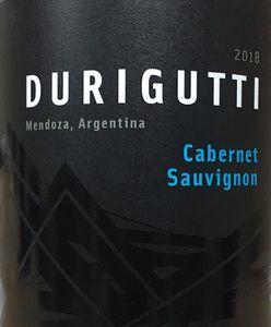 Durigutti Cabernet Sauvignon 2018