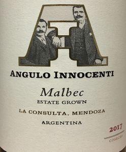 Angulo Innocenti Malbec 2017