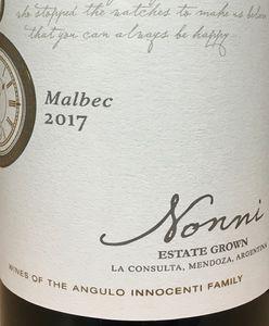 Angulo Innocenti Nonni Malbec 2017