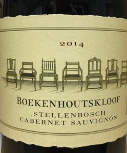 Boekenhoutskloof Cabernet Sauvignon 2014