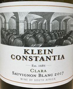 Klein Constantia Clara Sauvignon Blanc 2017