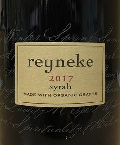 Reyneke Syrah 2017