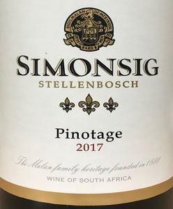 Simonsig Pinotage 2017