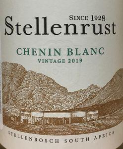 Stellenrust Chenin Blanc 2019