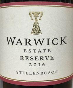 Warwick Estate Reserve 2016