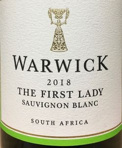 Warwick The First Lady Sauv Blanc 2018