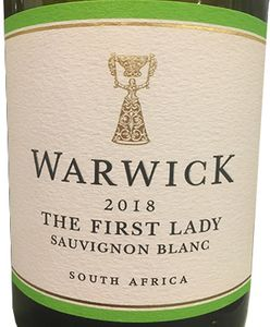 Warwick 'The First Lady' Sauvignon Blanc 2018