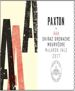Paxton Red Blend 2017
