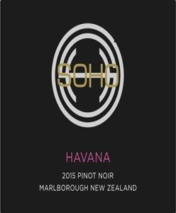 Soho Havana Pinot Noir 2015