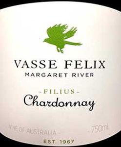 Vasse Felix Filius Chardonnay 2016 - *last 3 bts*