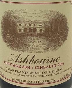 Ashbourne Pinotage Cinsault 2018
