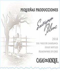 Casas del Bosque Pequenas Producciones Sauvignon Blanc 2018
