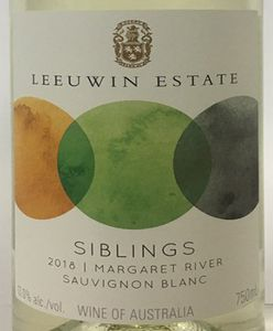 Leeuwin Siblings Sauvignon Blanc 2018