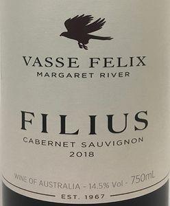 Vasse Felix 'Filius' Cabernet Sauvignon 2018