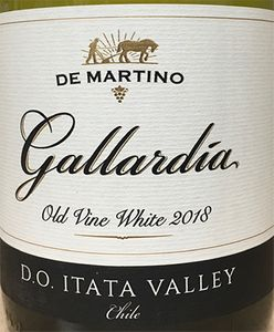 De Martino Gallardia Old Vine White 2018