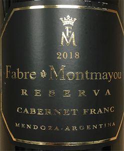 Fabre Montmayou Reserva Cabernet Franc 2018