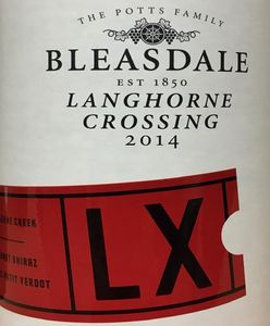 Bleasdale Langhorne Crossing Red 2014