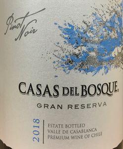 Casas del Bosque Gran Reserva Pinot Noir 2018