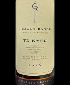 Craggy Range Te Kahu 2016