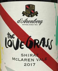 D'Arenberg Love Grass Shiraz 2017