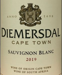 Diemersdal Sauvignon Blanc 2019