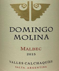 Domingo Molina Malbec 2015