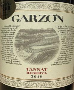 Bodega Garzon Tannat 2018