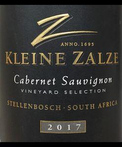 Kleine Zalze VS Cabernet Sauvignon 2017