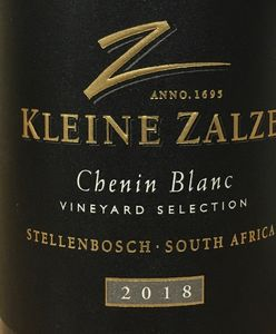 Kleine Zalze Vineyard Selection Chenin Blanc 2018