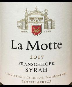 La Motte Syrah 2017